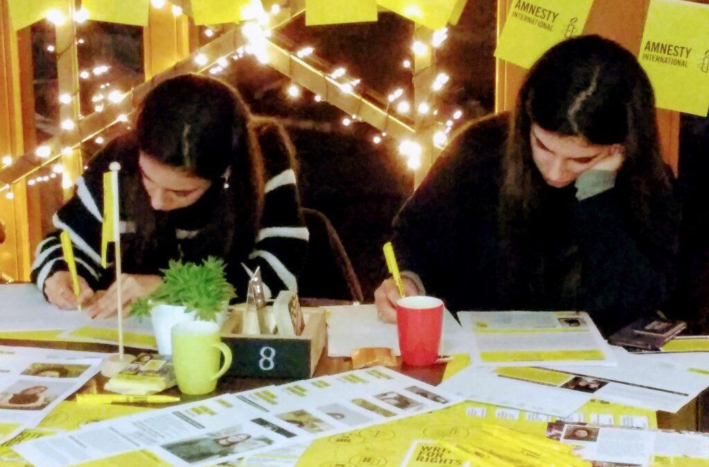 Amnesty: Write for Rights – Kom in actie tegen onrecht